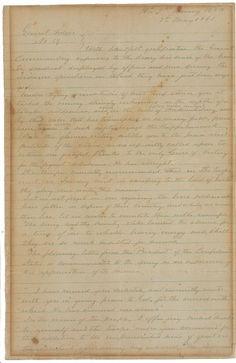 Robert E Lee manuscript to auction for $70,000?