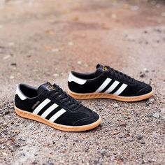 adidas Originals Hamburg: Black