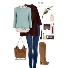 A fashion look from January 2015 featuring Oasis sweaters, Forever New leggings and MICHAEL Michael Kors boots. Browse and shop related looks.
