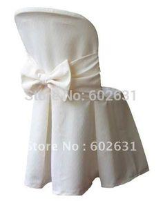 Председатель обложка горячая распродажа белого для столовой кафедры, Качество полиэфирная ткань, Стирать / прочный L-113 индивидуальные