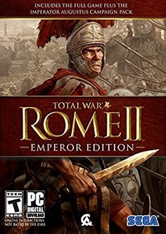 Total War: Rome II - Emperor's Edition (PC DVD) Emperor Edition contains everything the original ROME II did, plus much more. Alongside numerous improvements to Sega Video Games, Online Video Games, Ocean Games, Creative Assembly, Dvd Box, Game Codes, Political System, Total War, Rome