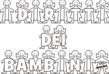diritti dei bambini Childhood, Teaching, School, Pinocchio, Geography, Alphabet, Party, Lab, Infancy