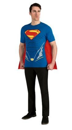 Rubie's Costume Superman Man of Steel Costume T-Shirt with Cape, Blue, Medium Rubie's Costume Co,http://www.amazon.com/dp/B00BCFT5E4/ref=cm_sw_r_pi_dp_PRAAsb1P0D3R5G8S