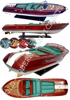 wooden speed boat - Google Search Nate's wooden speadboat