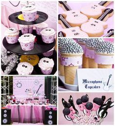 Rockstar Party Birthday Party Ideas | Photo 8 of 38 | Catch My Party