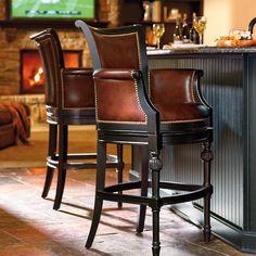 "Chesterfield Bar Height Bar Stool (30""H seat)"