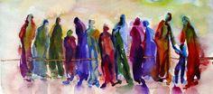 "In Cammino: mons. Gianfranco Poma "" Beati i poveri in spirito"". Painting, Art, Art Background, Painting Art, Kunst, Paintings, Performing Arts, Draw"