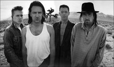 U2's Joshua Tree. Love this band. They are so inspirational to listen to!