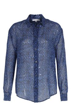 PATRIZIA PEPE Seidenbluse mit Tupfen-Print bei myClassico - Premium Fashion Online Shop