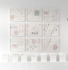 Nine Drawings, Seven Models idée d'exposition de production