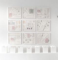 Nine Drawings, Seven Models