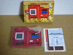 BANDAI Pokemon Zukan POKEDEX First ver. Red/Green Electronic Toy Japan 752 #BANDAI