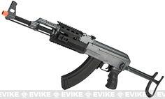 Full Size AK47-S RIS Airsoft AEG Rifle w/ Metal Gearbox
