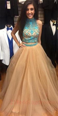Two Pieces Beaded Charming Prom Dresses,Evening Dresses,Prom Dress,Party Gowns,Orange Prom Dresses On Sale http://21weddingdresses.storenvy.com/products/15363006-two-pieces-beaded-charming-prom-dresses-evening-dresses-prom-dress-party-gow