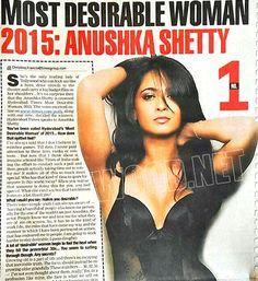 anushka shetty most desirable women in hyderabad