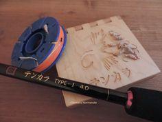 My tenkara gear: Oni rod+Meiho spool+Setina box