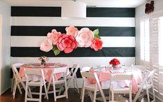 giant paper flowers diy wedding decorations
