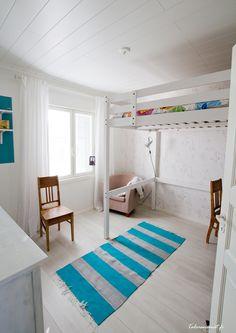 tilaa leikeille Design-Talon lastenhuoneessa