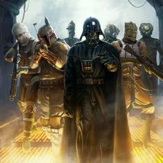 Vader and the bounty hunters you STFU!