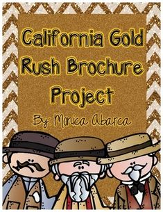 This activity is a great way to wrap up your unit of study on the California Gold Rush. This project can be used for classwork, homework, a culmination assessment to your social studies unit, group assignment, or just for a fun social studies activity!