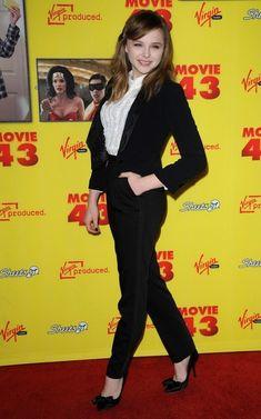 "chloe moretz movie 43 photos | Chloe Grace Moretz Photos - ""Movie 43"" Premiere - Zimbio"