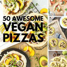 50 Awesome Vegan Pizzas