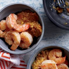 Like mashed potatoes, mofongo, made with mashed green plantains, is a delicious, garlicky vehicle for all kinds of savory toppings.