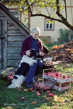 This is me in 50 years! I love this precious photo.