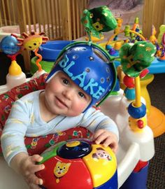 @Danielle Lampert. This is a friend of mine that blogged about her son's Helmet days! A lovely blog about treatment for Brachycephaly.
