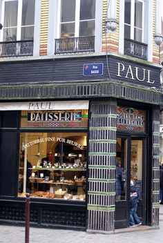 Paul Boulangerie et Pâtisserie | Lille, France  http://www.pinterest.com/adisavoiaditrev/