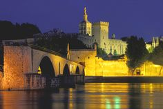 Avignon, one of the most charming places in France filled with priceless history.  We loved it even in the rain!