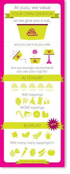 Frozen Yogurt by Michelle Poler, via Behance infographic