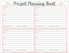 Blissful Keeper at Home: Project Planning Sheet
