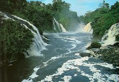 Gabon: Ivindo National Park - Kongou waterfalls by icitaiwan1, via Flickr