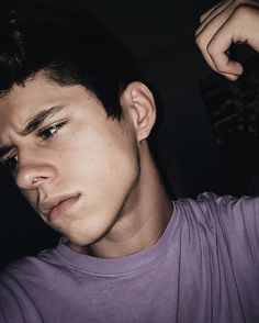 "[ fc : krecioch ] ""oi, im jackson. im a two thats from angeles. my twin sisters name is lia. me and hanna have been best friends for so long because our parents are close. we live in the castle and i work as a social media influencer which means i am famous on social media. i am not one of those stuck up twos that care about themselves. i actually do a lot of charity work. when you first meet me i am mysterious and quiet but when you get to know me....im loud..very loud. and crazy."" i laugh"