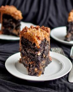Yammie's Noshery: The Best German Chocolate Cake in All the Land ... The from scratch recipe is Oh My YUM!