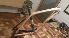 Bamboo Bicycle, Wooden Bicycle, Wood Bike, Recumbent Bicycle, Bicycle Pedals, Cargo Bike, Bike Frame, Bicycle Design, Made Of Wood