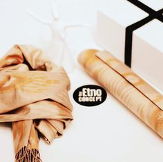 Ikat Clutch & Scarf for Her!