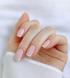 Frensh Nails, Chic Nails, Stylish Nails, Pink Nails, Hair And Nails, Chic Nail Art, Classy Nails, Subtle Nail Art, Nagellack Design