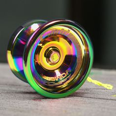 Yomega Aurora Borealis Glide - $45 for a yo-yo is probably out of my budget, but that is an awesome looking yoyo!
