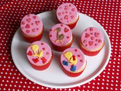 Gossie, Gertie and Ollie cupcakes