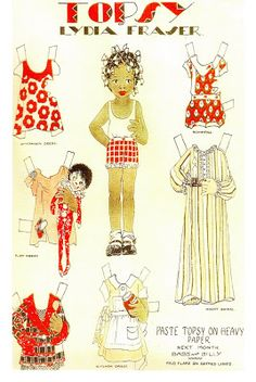 The Paper Collector: Paper Doll Exhibit at CAFAM