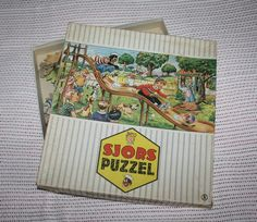 Puzzel Sjors & Sjimmie uit eigen verzameling