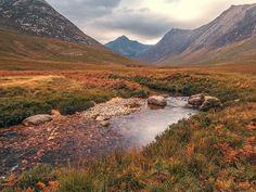 Glen Sannox, Arran Scotland Landscape, Isle Of Arran, Scottish Islands, Garden Club, Scotland Travel, Great Britain, Beautiful Landscapes, Travel Inspiration, Beautiful Places