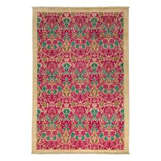 """Morris Collection Oriental Rug, 6'3"""" x 9'1"""""""