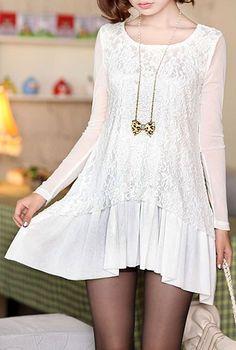 lace dress  $9.44  lace otome kei vintage retro fachin dress under10 under20 under30 sammydress
