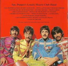 The Beatles: Sgt. Pepper's Lonely Hearts Club Band (liner notes).