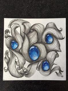 Gem Zentangle (Kirsten Scardamaglia)
