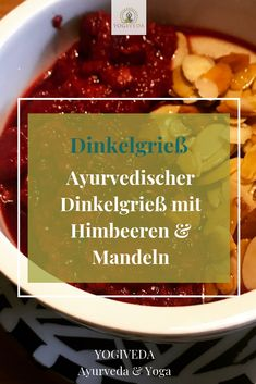 Ayurvedisches Frühstück - ein ayurvedisches Frühstück sollte am besten warm und gut bekömmlich sein. Das Rezept findest du auf meinem Blog.