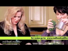 Making Cultured Vegetables w/ Fermented Drinks - Real Food Real Life™....yummy. No salt, no whey!